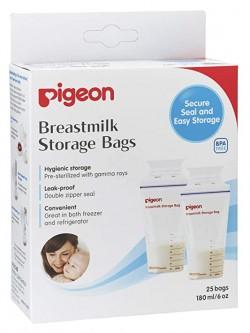 Bolsas Pigeon para Almacenar leche materna x25