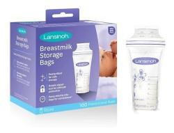 Bolsas Lansinoh para Almacenar leche materna x100